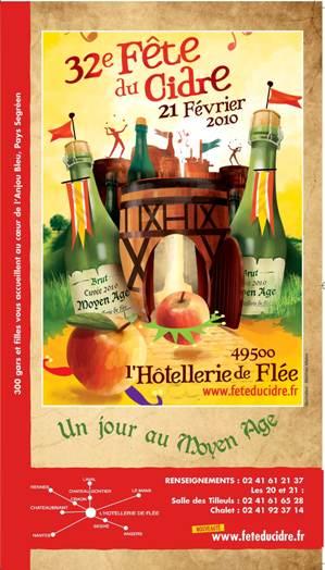 fête du cidre, Hotellerie de Flée