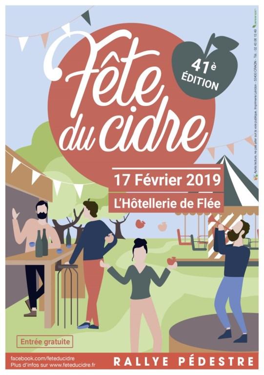 flyer de la fête du cidre 2019